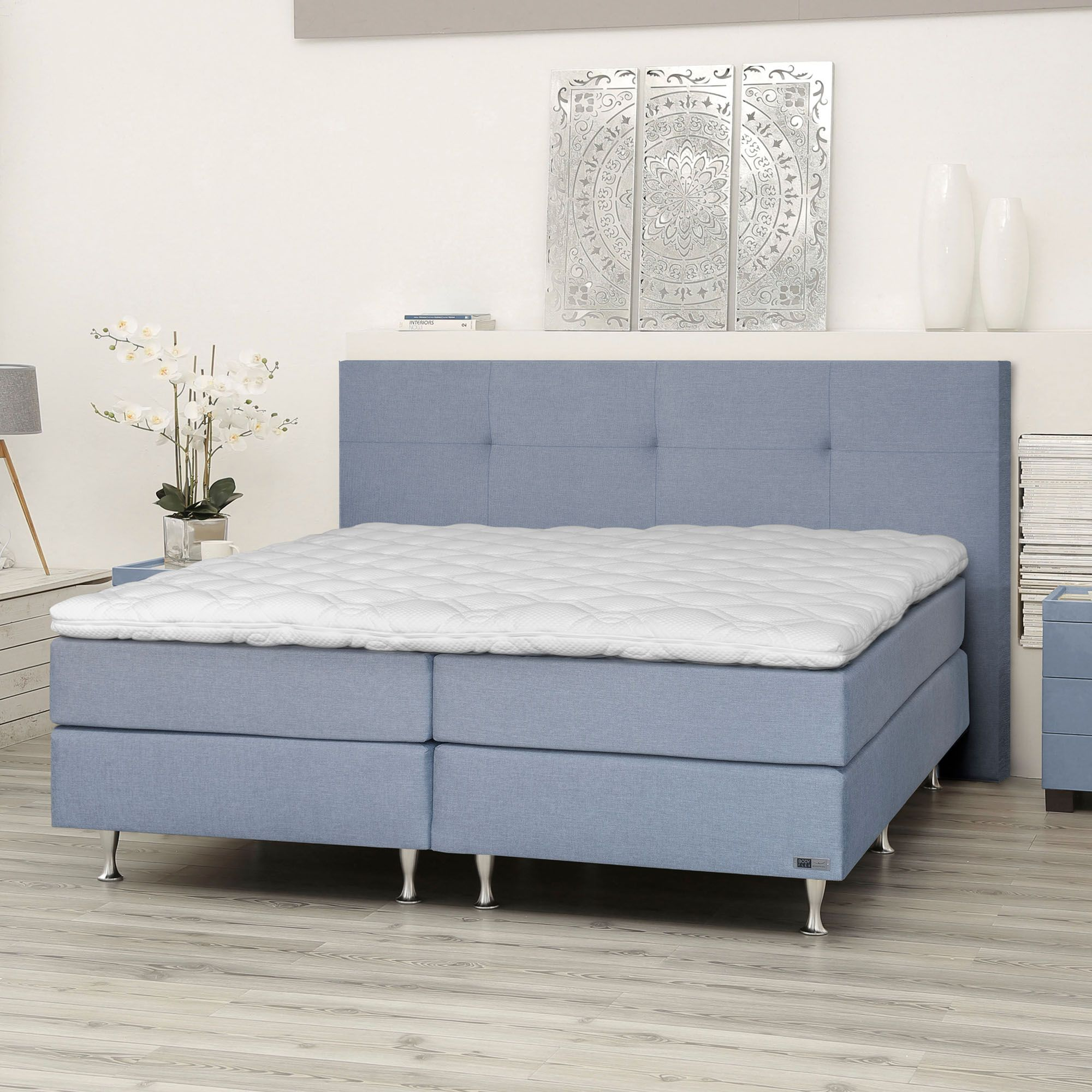 BODYFLEX BOXSPRING Bett Gloria Serie Classic Designkopfteil inkl ...
