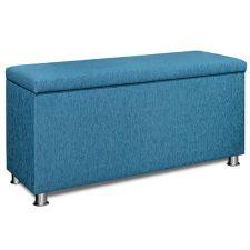 BODYFLEX BOXSPRING  Ankleidebank Möbelstoff aufklappbar ca. 114x58x40cm