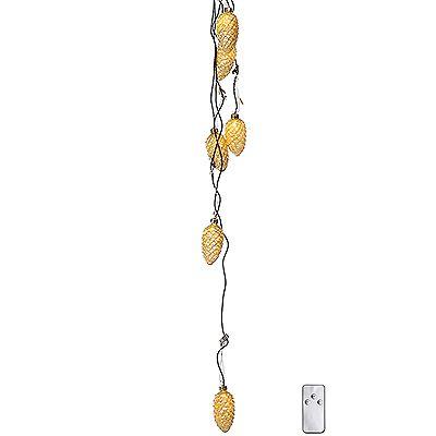 LUMIDA Xmas Lichterkette Stecksystem Motiv-Anhänger Timer, 6tlg. Preisvergleich