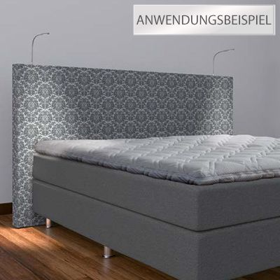 bodyflex boxspring beleuchtung f r boxspringbetten dimmer 2tlg page 1. Black Bedroom Furniture Sets. Home Design Ideas