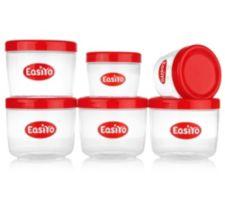 EASIYO  Behälter-Set 2x 250ml & 4x 500ml