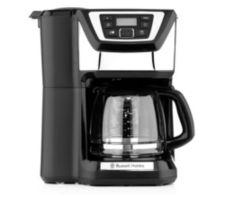 RUSSELL HOBBS  Glas-Kaffeemaschine integr. Mahlwerk Abschaltautomatik Tropf-Stopp