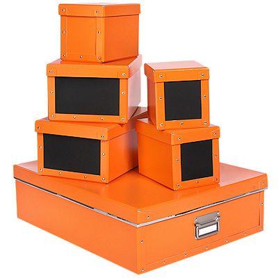 Tine wittler aufbewahrungsbox stabiler karton mit kreidetafel set 6tlg page 1 - Tine wittler wohnideen ...