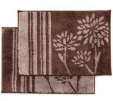 CASA FONDO  Mikrofaser 2 Fußmatten Chrysantheme ca. 45x65cm