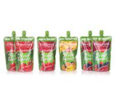 EASIYO  Früchtepüree 6 Stück 4 Sorten Inhalt 1.500g