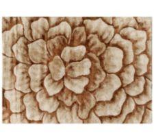 CASA FONDO  Teppich, handgewebt Viskose supersoft Dahlien-Design Florhöhe ca. 1,1cm