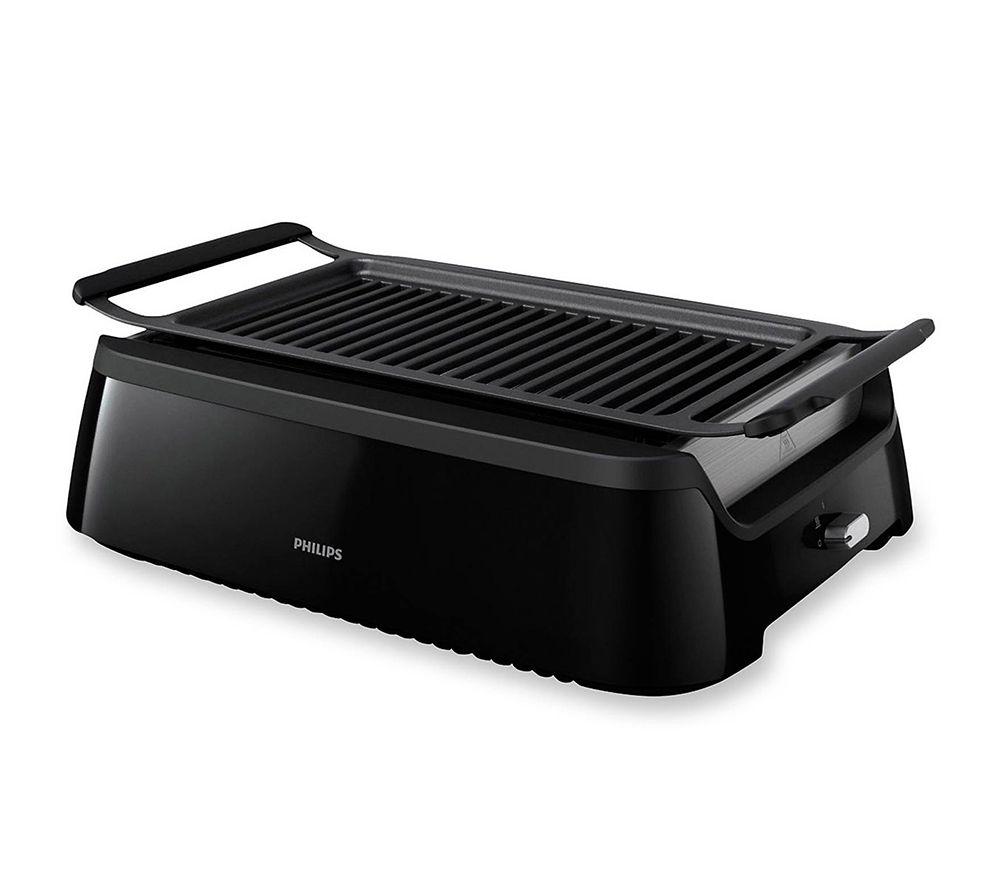 philips smokeless grill rauchfrei infrarottechnik inkl. rezeptheft