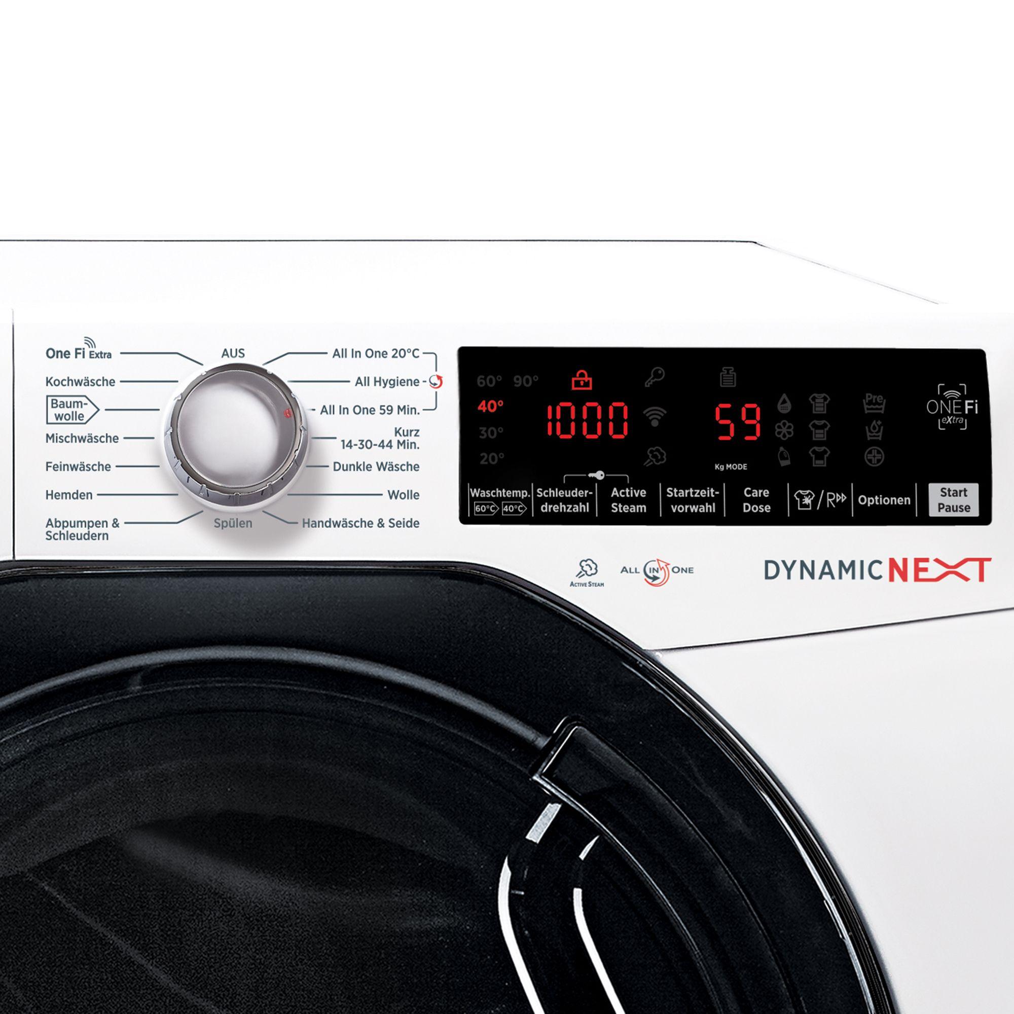 Hoover Waschmaschine 9kg Eek A 40 Auto Dosierung 5j
