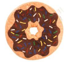 MONT CHALET  MF Chinchilla. Fellimitat Donut-Kissen Ø ca. 40cm, 2tlg.