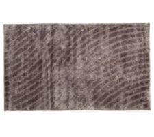 CASA FONDO  Mikrofaser-Teppich Hoch /Tief- Glanzflor uni