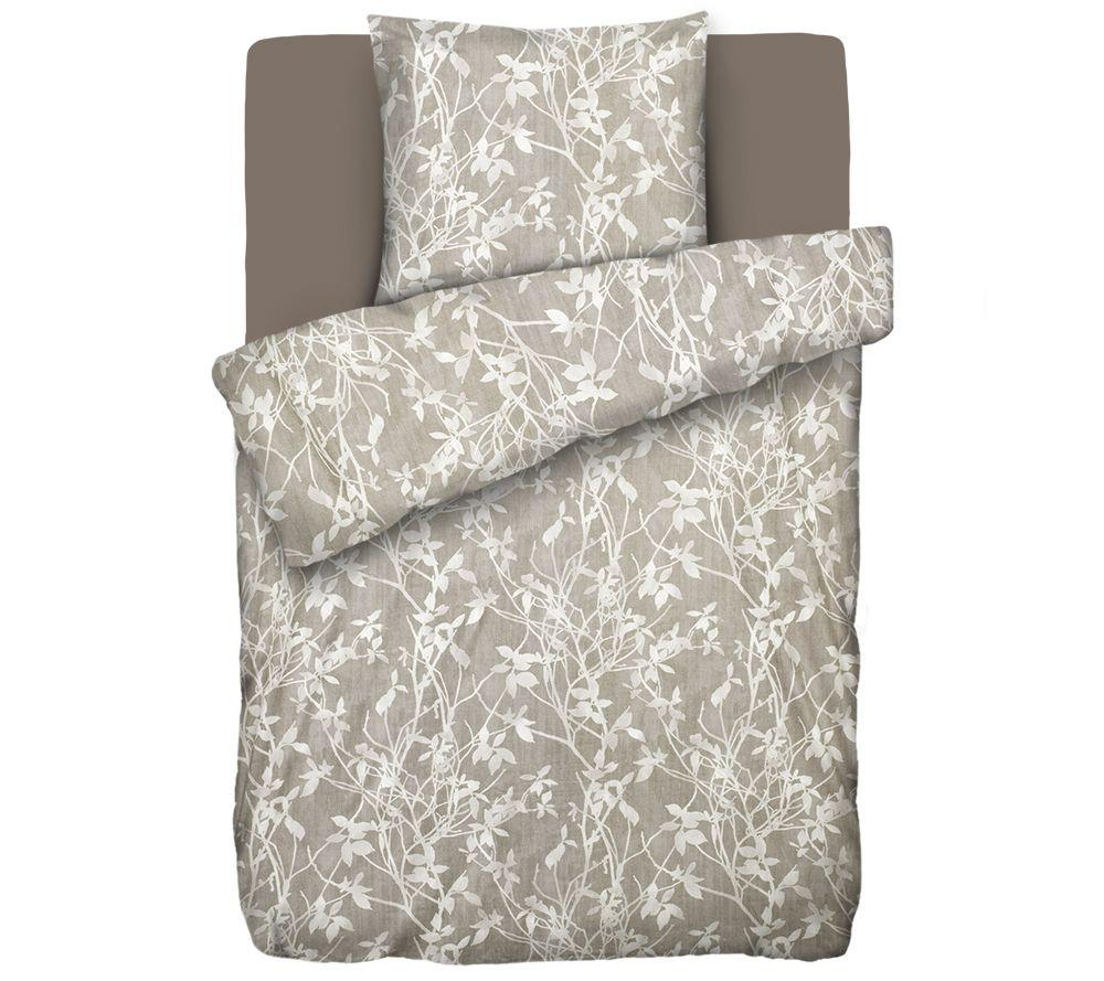 jerymood mf jersey interlock bettw sche blattschmuck einzelbett 3tlg page 1. Black Bedroom Furniture Sets. Home Design Ideas