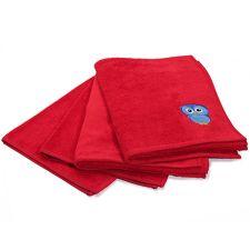 FIDIBUS  MF/Baumwolle Kinder- Handtuch-Set 4tlg.