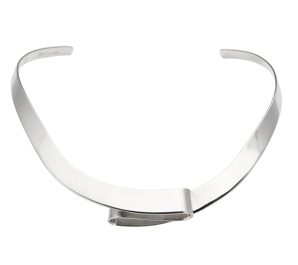 NEU Halsreif 3 Varianten Silberverschluss
