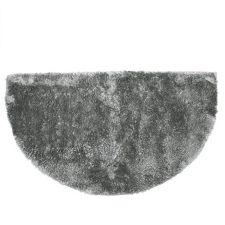 BADIZIO  Mikrofaser Badematte Glanzflor uni halbrund, ca. 50x90cm