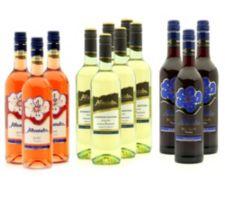 AFFENTALER WEIN  12 Flaschen Affentaler Sommerweine Jg. 2016