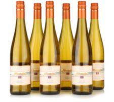 AFFENTALER WEIN  6 Flaschen SLK Traminer Spätlese lieblich Jg. 2015