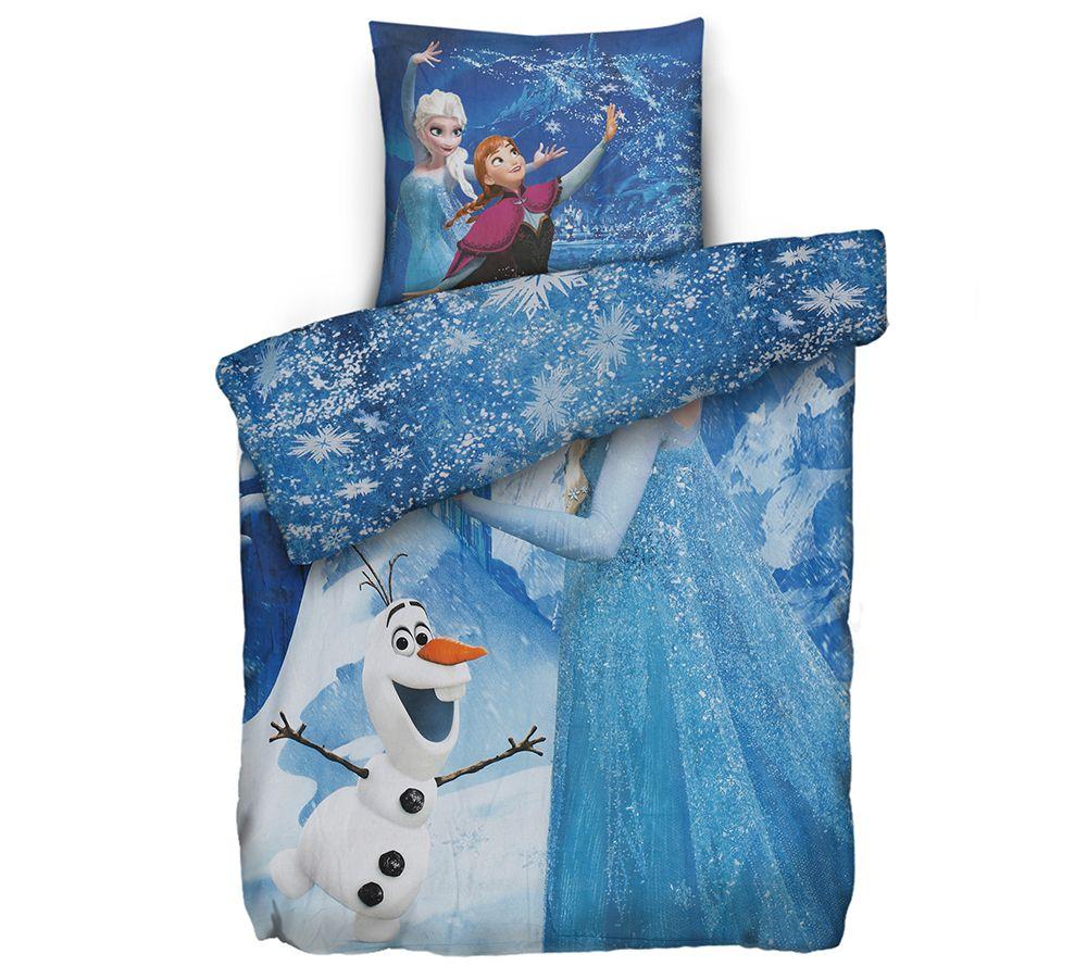 Disney Die Eiskönigin Baumwoll Biber Wendebettwäsche Einzelbett