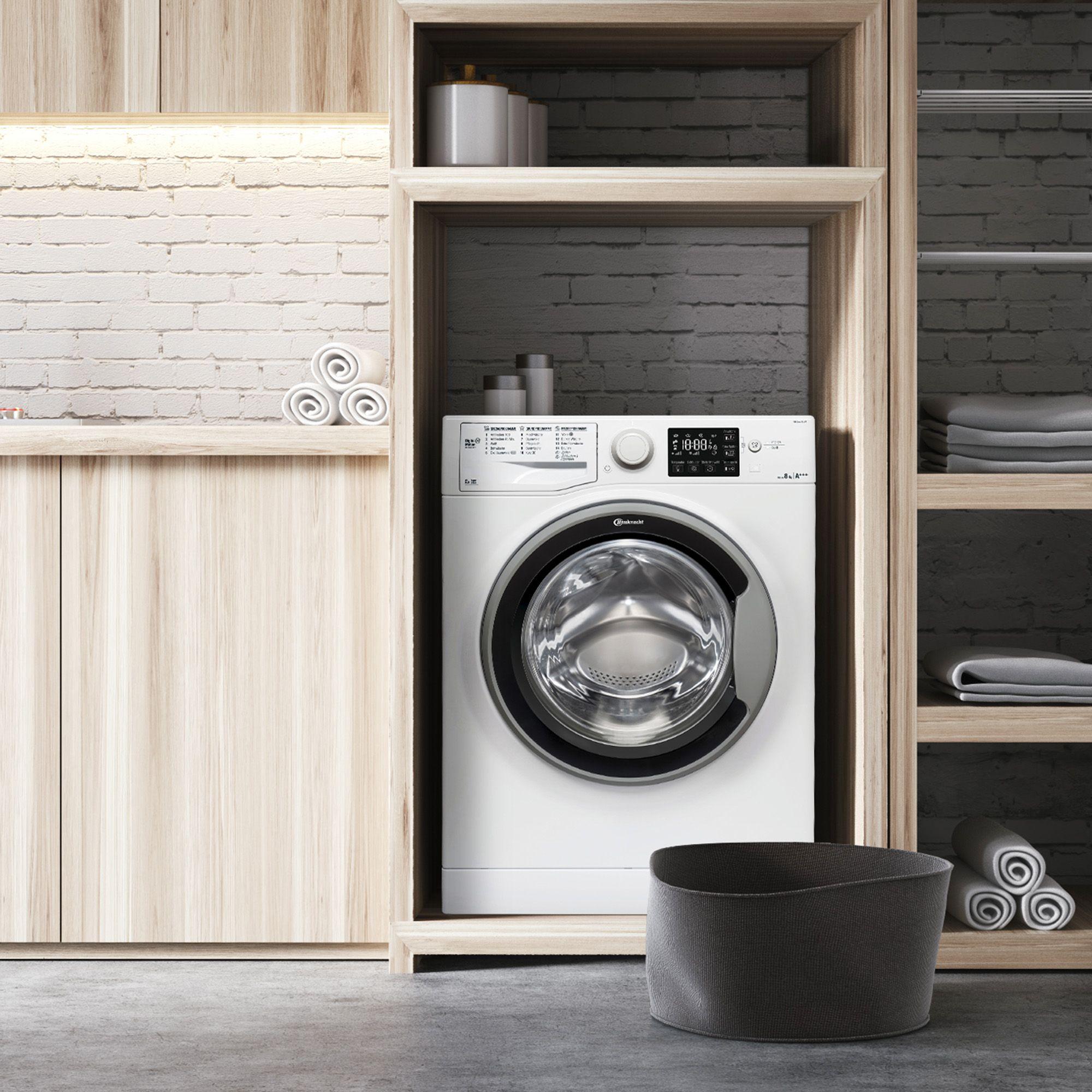 bauknecht waschmaschine wm sense 8g43ps 8kg eek a 30 5j herstellergarantie page 1. Black Bedroom Furniture Sets. Home Design Ideas