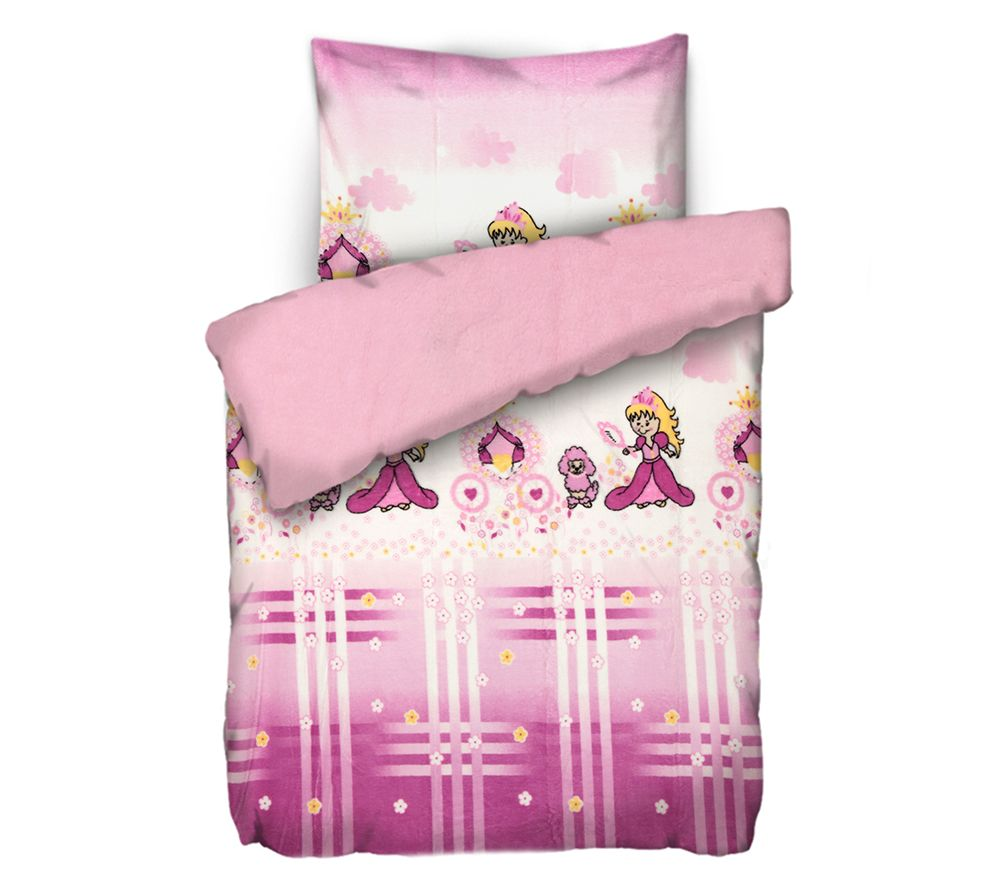 Badizio Classic Mf Plüschtrikot Kinderbettwäsche Prinzessin