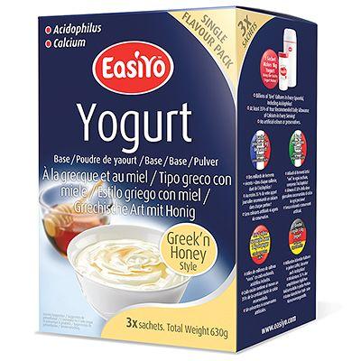 Easiyo joghurtpulver 3 beutel f r 3kg joghurt griechische art page 1 - Griechische wohnideen ...