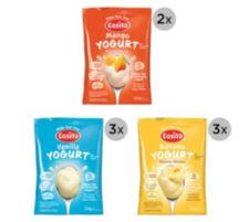 EASIYO  Joghurtpulver 8 Beutel für 8kg Joghurt 3 Sorten