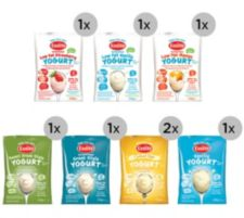 EASIYO  Joghurtpulver 8 Beutel für 8kg Joghurt 7 Sorten