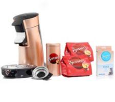 SENSEO  Viva Café Kaffeepadmaschine inkl. Paddosen & Zubehörpaket Viva Café HD 7831/30
