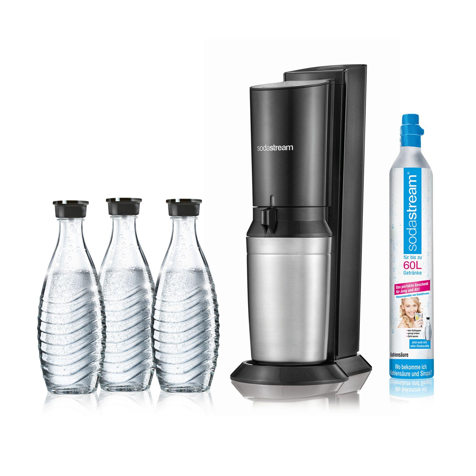 Sodastream Crystal 2 0 3 Karaffen 1 Zylinder 5j Herstellergarantie Qvc De