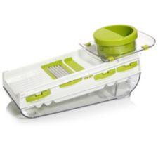 BONDIDOU  5in1-Reibe mit V-Hobel Restehalter & Auffangbehälter