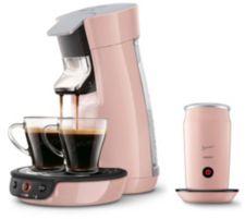 SENSEO  Viva Café Kaffeepadmaschine & Milchaufschäumer 1.450W Viva Café HD7829/10 HD7829/30