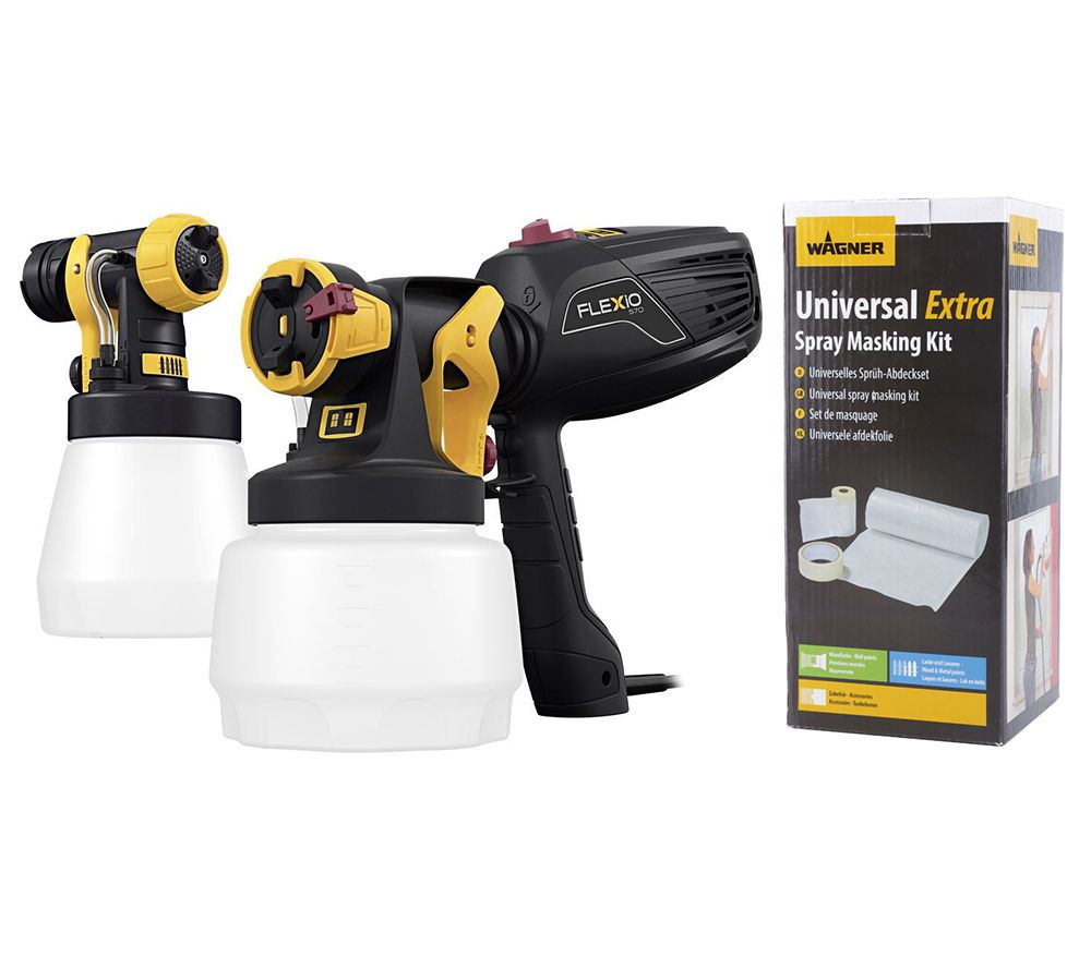 wagner universal-sprayer w570 flexio inkl. abdeck-set 5j