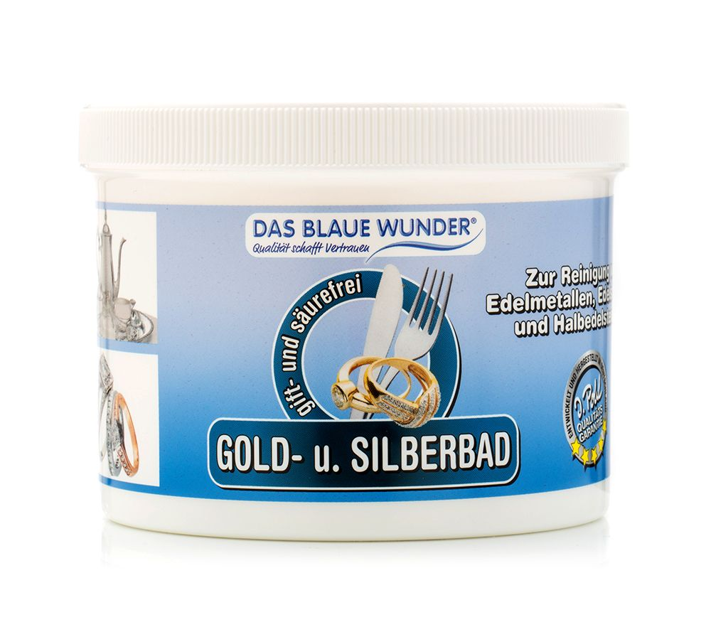 Häufig DAS BLAUE WUNDER® Schmuck- & Besteck- reiniger-Bad inkl. Brillant XU52