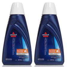 BISSELL  Teppichreiniger Doppelpack Wash & Refresh Natural Orange