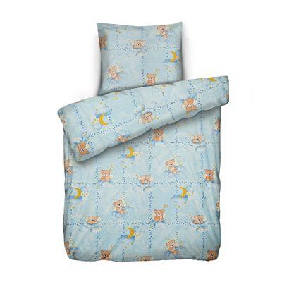 JERYMOOD Kinderbettwäsche Wolkenbären Mikrofaser Jersey Einzelbett, 2tlg. Preisvergleich