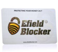 EFIELD BLOCKER  RFID-Schutzkarte gegen illegales Auslesen/ Datenklau