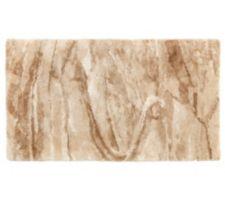 CASA FONDO  Teppich feiner Shaggy Marmor-Optik dicht gewebt