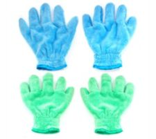 AQUA CLEAN  Kristall Soft Handschuhe Entstauben & Polieren, 4tlg.