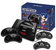 SEGA Genesis Flashback HD Console with 85 Games and 4 Controllers - E231200
