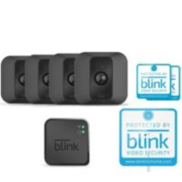 Deals on Blink XT 4-Pack Wire-Free HD Weatherproof Wi-Fi Camera
