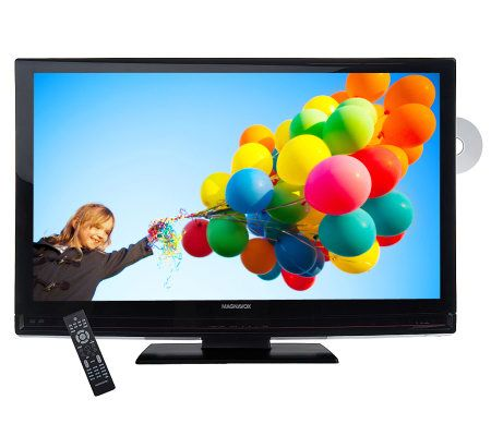 Magnavox 37 Diag 720p Lcd High Def Tv Withbuilt In Dvd Player Page 1 Qvc