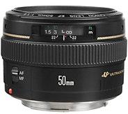 Canon EF 50mm f/1.4 USM Standard & Medium Telephoto Lens - E245401