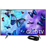 Samsung 55 Class Q6FN QLED Ultra HDTV & HDMICable - E294701