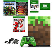 XBox One S 1TB Limited Edition Minecraft Console with NBA 2K1 - E295201