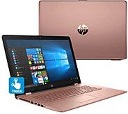 HP 17 Touch Laptop Intel 8GB RAM 2TB HD BacklitKeyboard & Tech Support - E231203
