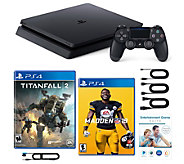 Sony PS4 Slim 1TB with Madden 19, Titanfall 2 and Voucher - E232503