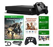 Xbox One X 1TB Console with Titanfall 2 and Voucher - E295203
