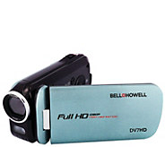 Bell and Howell 16-Megapixel Slice II UltraslimHD Camcorder - E296403