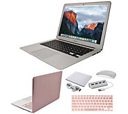 Apple MacBook Air 13 Laptop with Clip Case, Wireless Mouse and Accessories - E232404