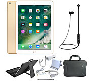 Apple iPad 9.7 128GB Wi-Fi Tablet with Keyboard and Accessories - E232804