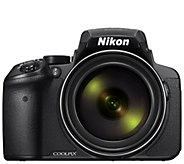 Nikon Coolpix P900 16MP Camera with 83X Zoom, 1080p Video - E295404